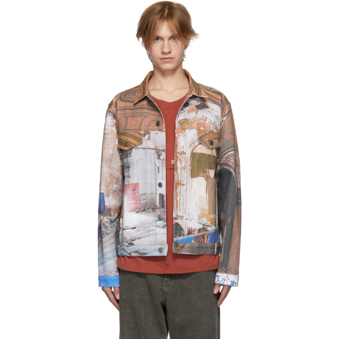 Image of 424 Multicolor All Over Print Jacket