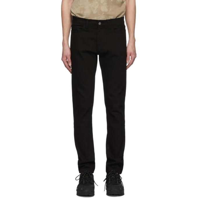 Image of 424 Black Four-Pocket Stretch Jeans