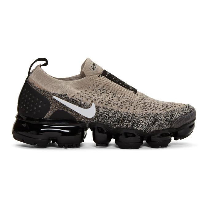 Nike Black & White Air VaporMax FK MOC 2 Sneakers