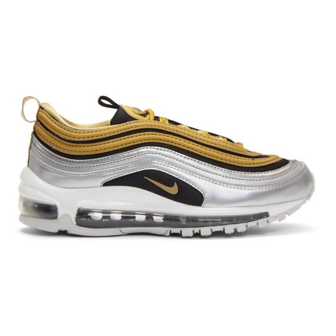 Nike Gold Air Max 97 SE Sneakers