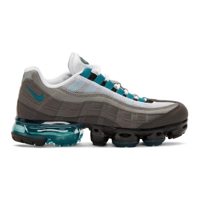 Nike Black & Blue Air Vapormax 95 Sneakers
