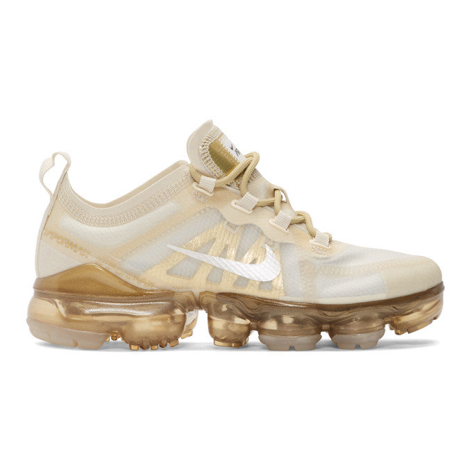 Women'S Air Vapormax 2019 Running Shoes, White in 101 Cream