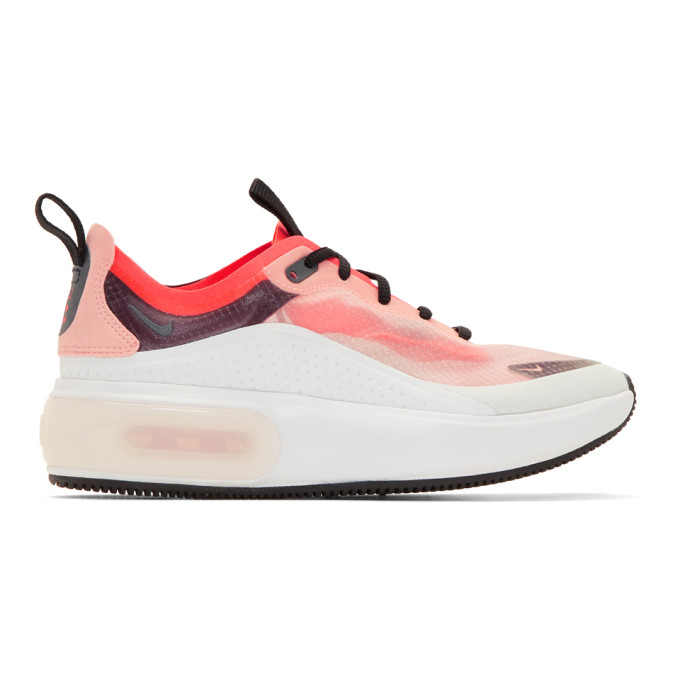 Nike Off-White & Pink Air Max Dia Sneakers