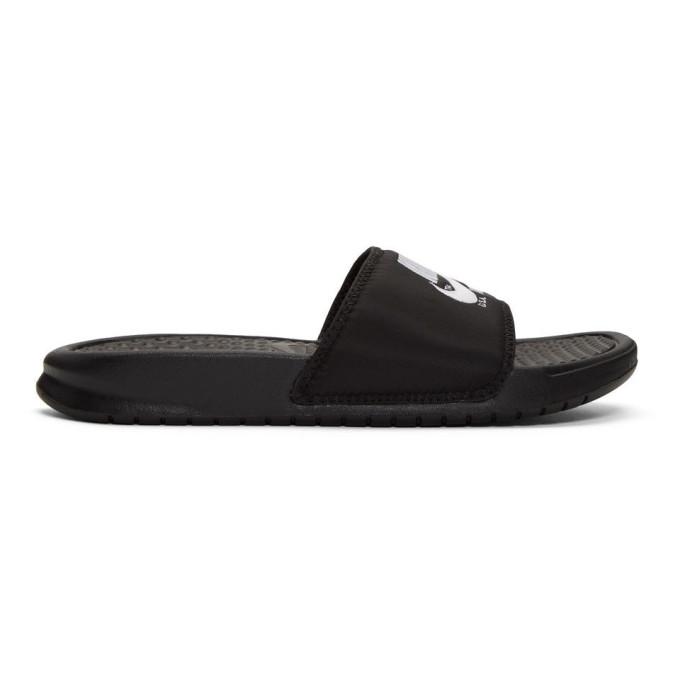 Nike Black Benassi Just Do It Sandals