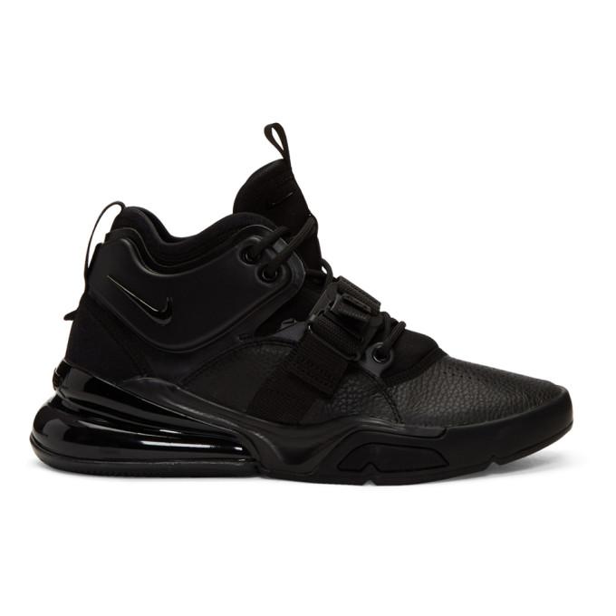 Nike Black Air Force 270 Sneakers