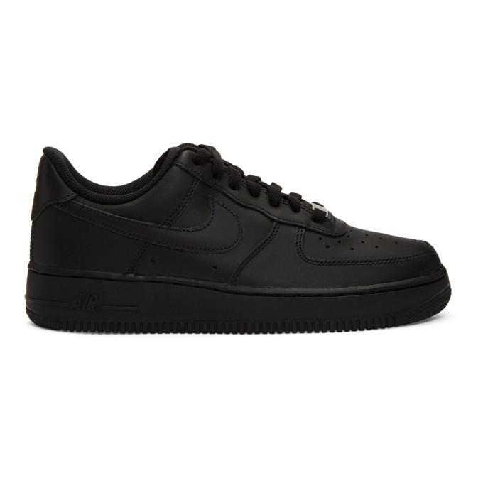 Nike Black Air Force 1 '07 Sneakers