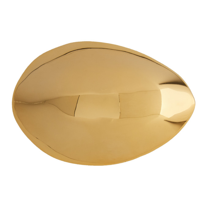 Image of Charlotte Chesnais Gold Small Egg Hair Clip