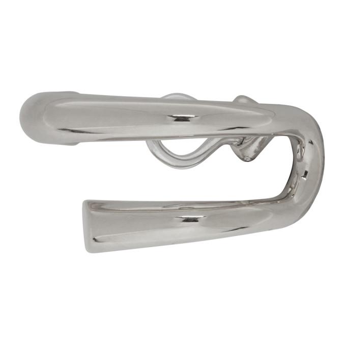 Charlotte Chesnais Silver Dali Clip-On Earrings