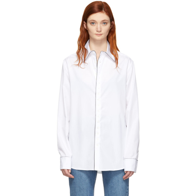 Kiki de Montparnasse Chemise blanche Boyfriend