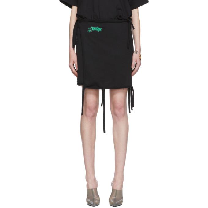 Ottolinger Mini-jupe en jersey noire