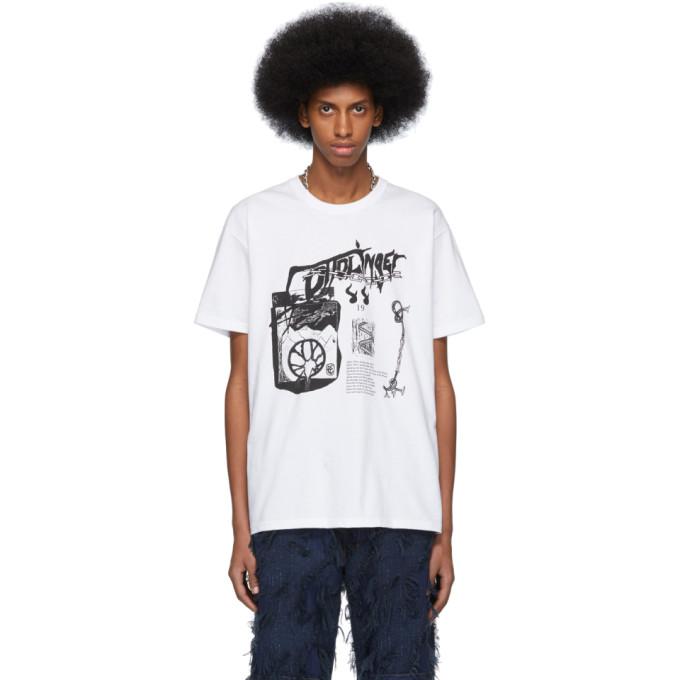 Ottolinger T-shirt a image a logo blanc