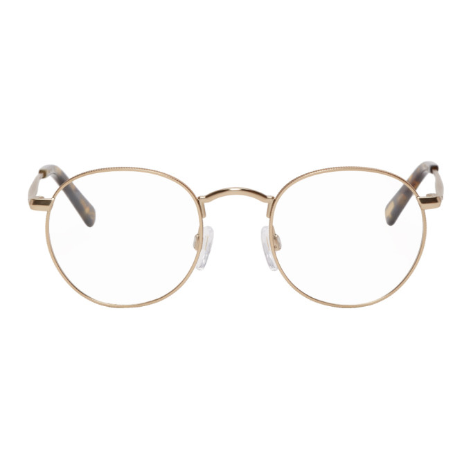 RAEN Raen Gold Benson Glasses in Gld Brd Tor