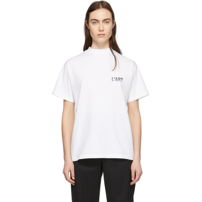 KAR / LArt de LAutomobile T-shirt blanc Gull Wings