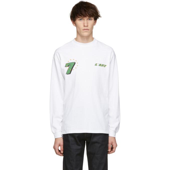 KAR / LArt de LAutomobile T-shirt a manches longues blanc GT Graphic