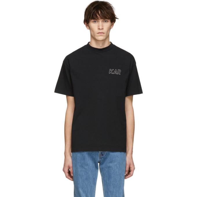Image of KAR / L'Art de L'Automobile Black Logo T-Shirt