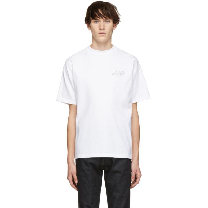 KAR / LArt de LAutomobile T-shirt a logo blanc