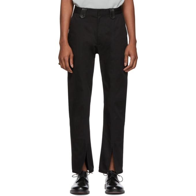 Image of St-Henri SSENSE Exclusive Black Order Pants