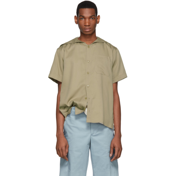 Image of St-Henri SSENSE Exclusive Beige Bivouac Shirt
