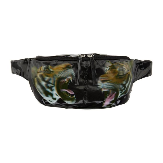 Image of Doublet Black Tiger 3D Waist Bag