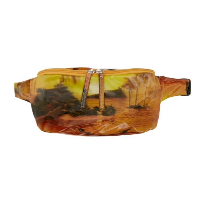 Doublet Yellow & Orange Aloha 3D Waist Bag