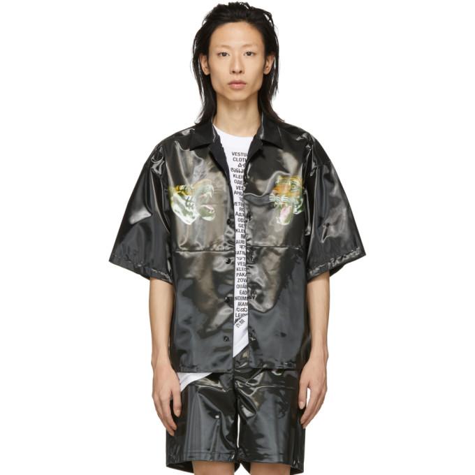Image of Doublet Black 3D Printed Tiger Shirt