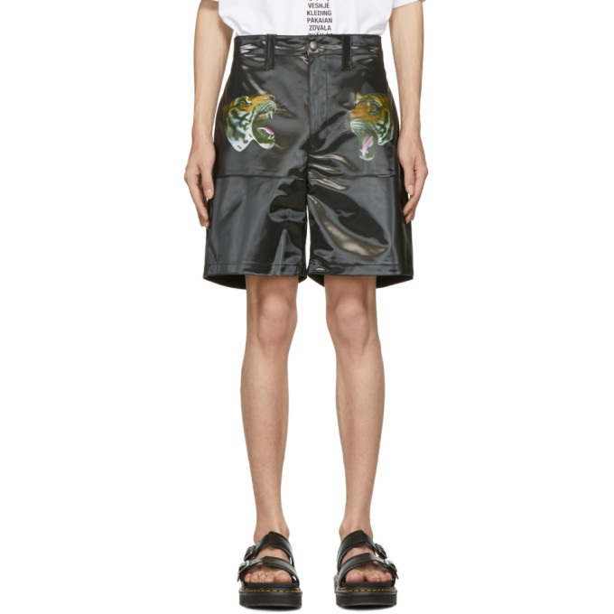 Image of Doublet Black 3D Printed Tiger Shorts