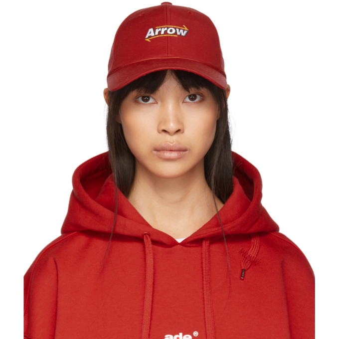 ADER error Red Arrow Mesh Cap thumbnail