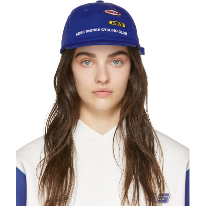 ADER error Casquette bleue Cycling ASCC exclusive a SSENSE