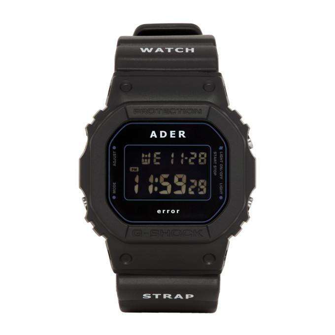 ADER error Black G Shock Edition Watch