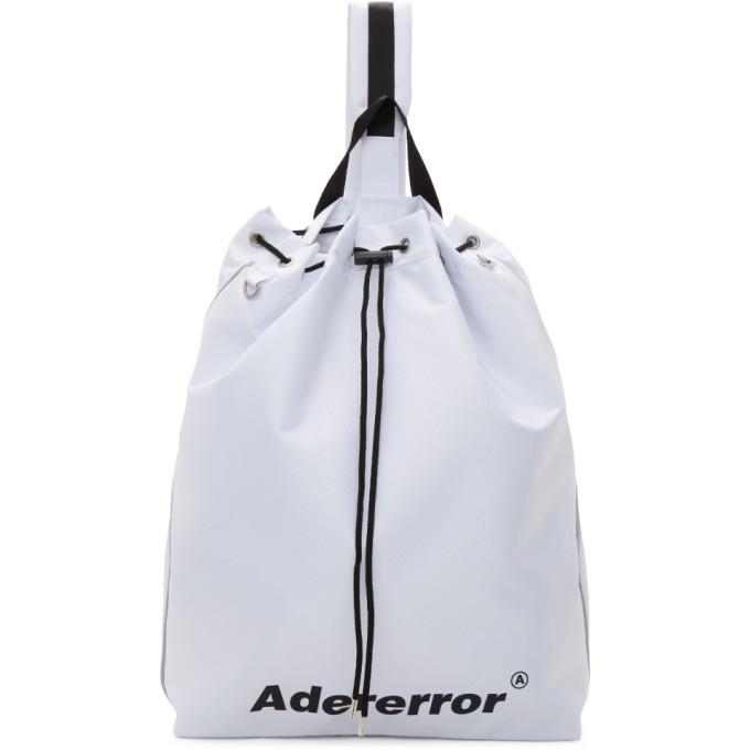ADER error White Arrow Cross Backpack