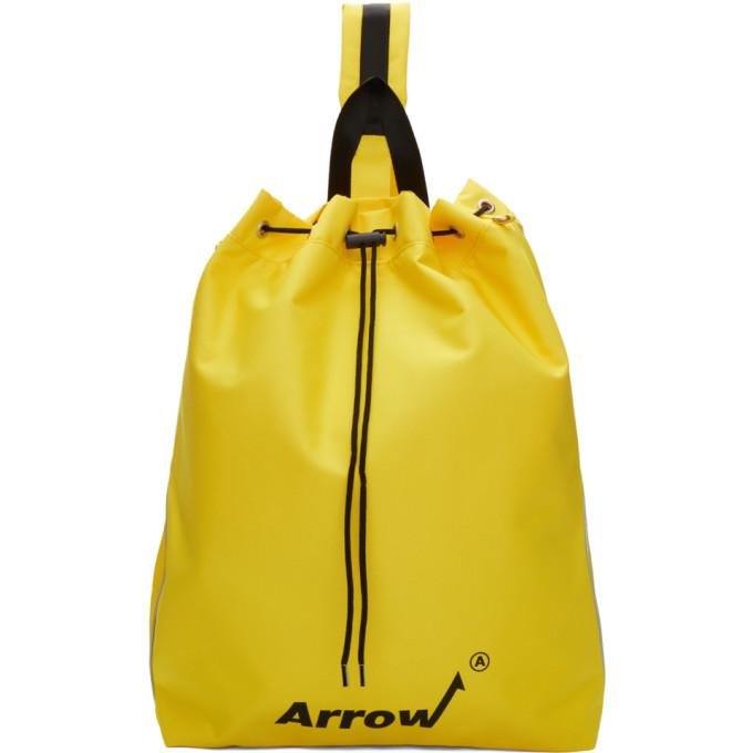 ADER error Yellow Arrow Cross Backpack