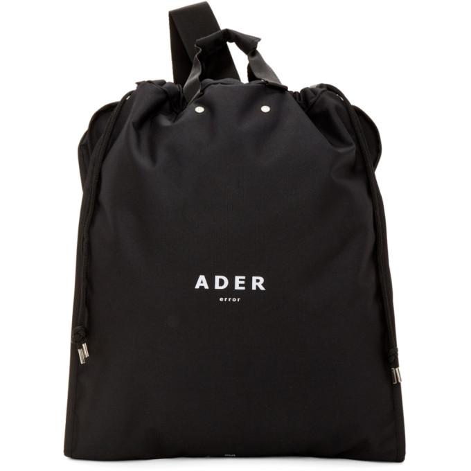 ADER error Black Suitcase Backpack thumbnail