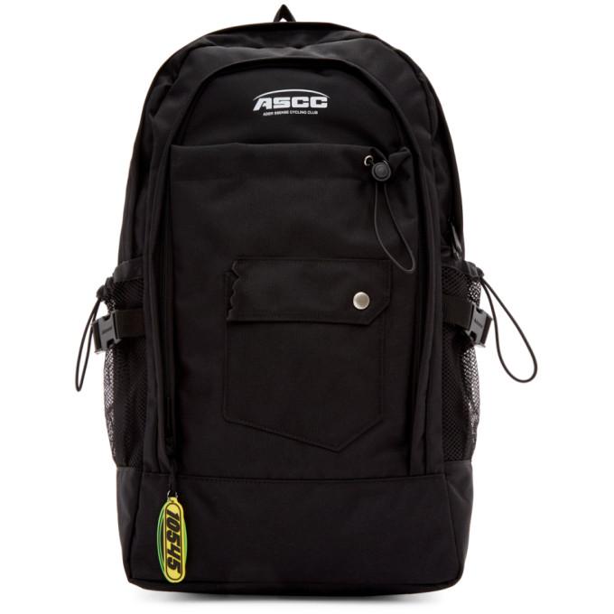 ADER error SSENSE Exclusive Black ASCC Regular Backpack