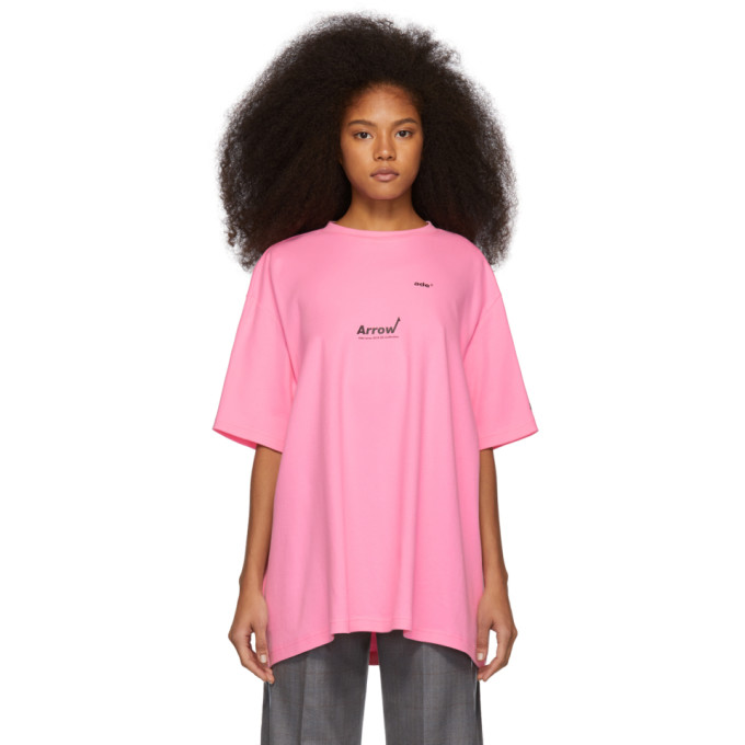 ADER error Pink Arrow T-Shirt thumbnail