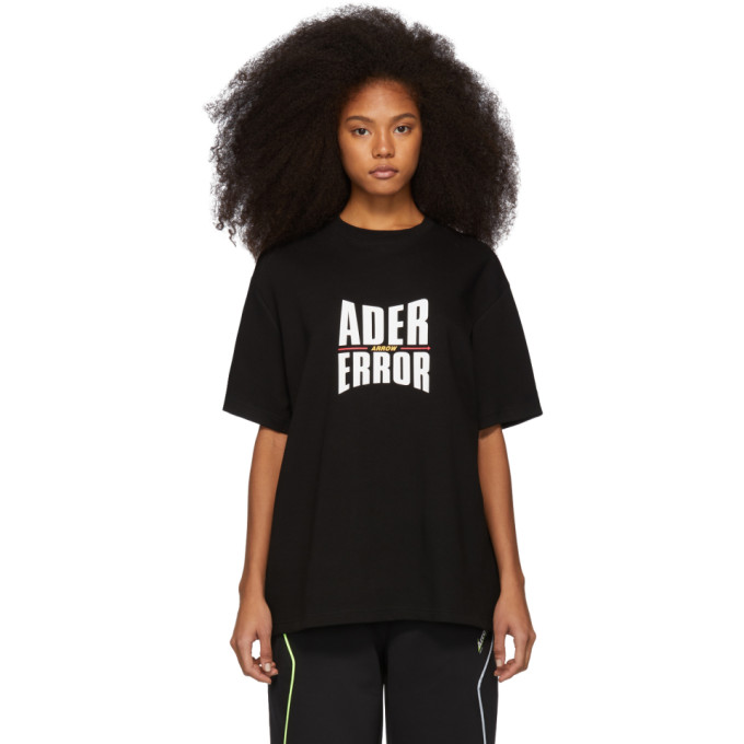 ADER error Black Form Logo T-Shirt thumbnail
