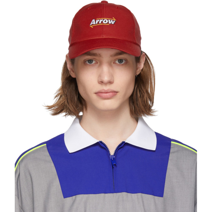ADER error Casquette en filet rouge Arrow