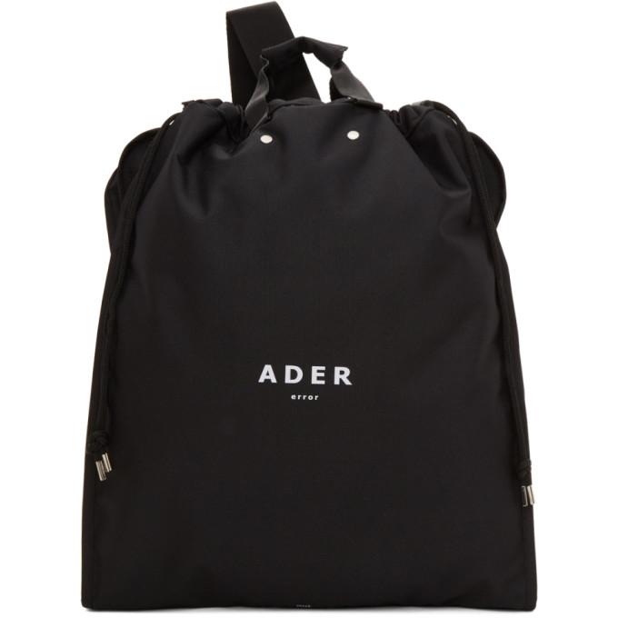 ADER error Black Suitcase Backpack