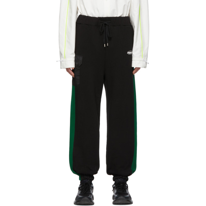 ADER error Pantalon de survetement noir Jogger ASCC exclusif a SSENSE