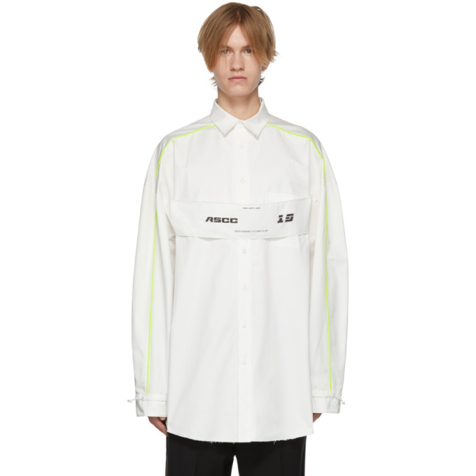 ADER error Chemise a logo blanche ASCC exclusive a SSENSE