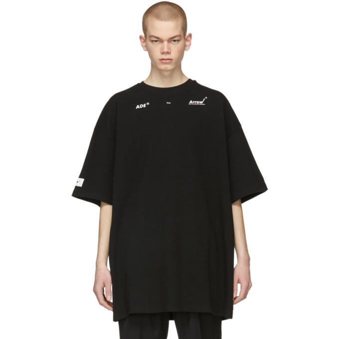 Image of ADER error Black 'Arrow' T-Shirt