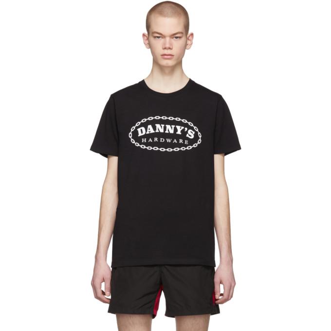 Image of Daniel W. Fletcher Black Organic 'Danny's Hardware' T-Shirt