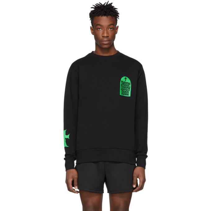 Image of SSS World Corp Black & Green Snoop Dogg Edition Tombstone Sweatshirt