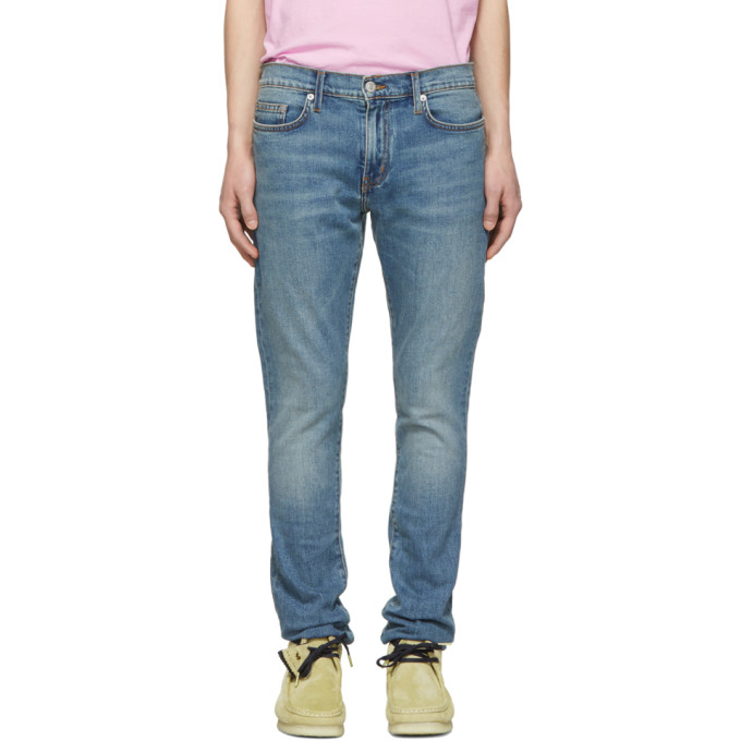 Image of Adaptation Blue Washed Skinny Jeans