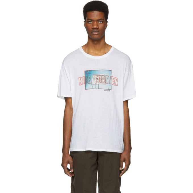 Adaptation T-shirt blanc Ride Forever