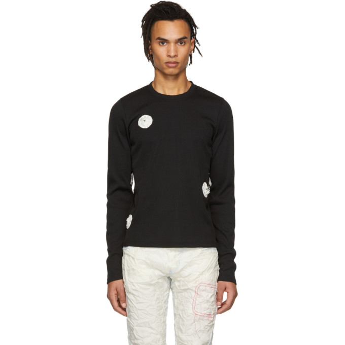 Kanghyuk T-shirt noir Patched Airbag