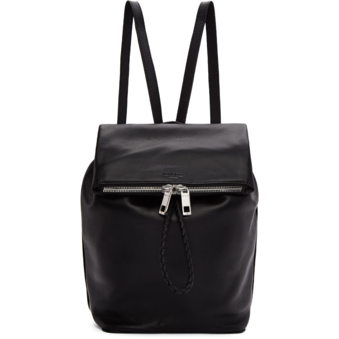 rag & bone Black Loner Backpack