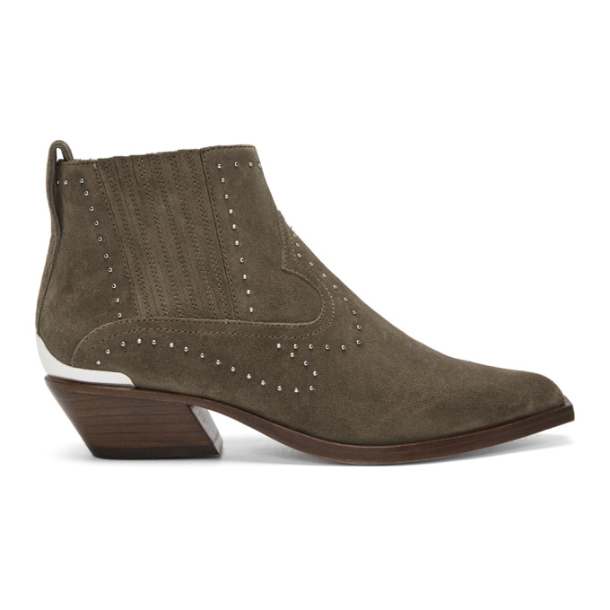 rag & bone Taupe Suede Westin Boots