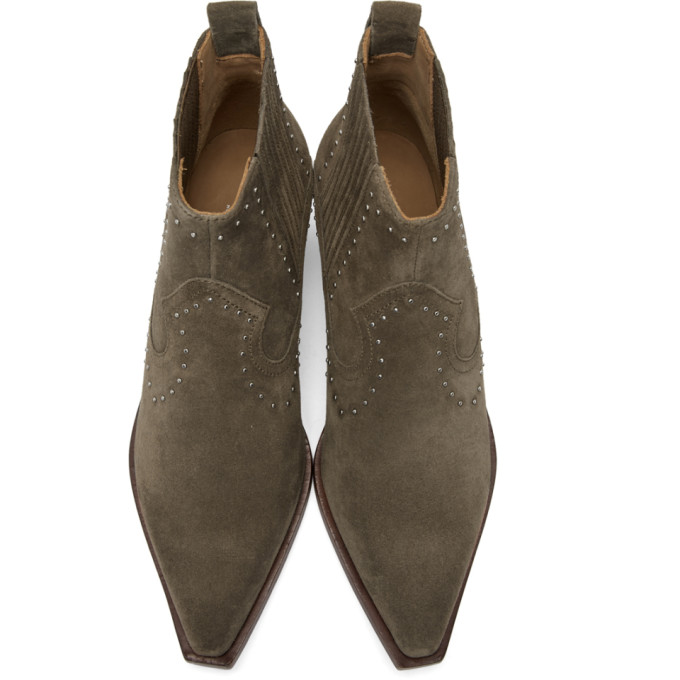 Modesens 988 amp; Rag In Bone Taupe Suede And Westin Boots zqP8CFP6n