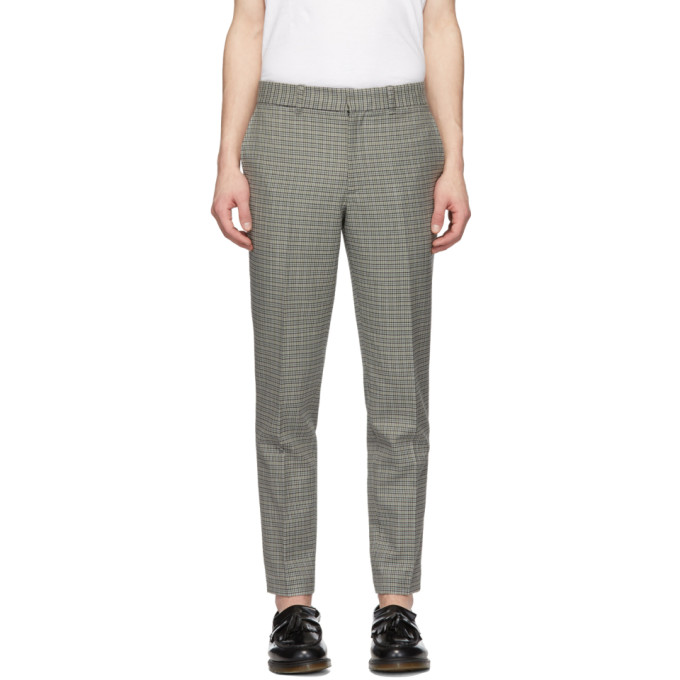 rag and bone Pantalon en laine gris Patrick