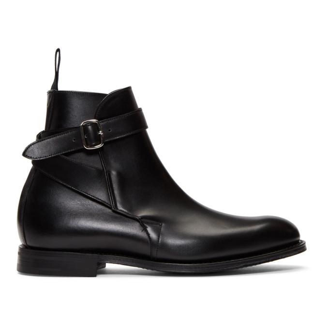 Image of Church's Black Bletsoe Boots